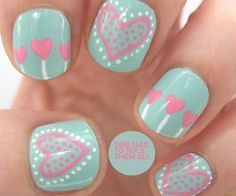 Easy Short Nail Designs for Kids Polka Dots Elegant 32 Valentine S Day Nail Art . - Easy Short Nail Designs for Kids Polka Dots Elegant 32 Valentine S Day Nail Art Ideas that Will Put You In the Mood for day nails easy polka dots - Love Nails, Pink Nails, Pretty Nails, Color Nails, Pastel Nails, White Nails, Heart Nail Art, Heart Nails, Heart Art