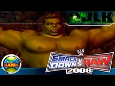 The Incredible Hulk Smackdown vs Raw WWE 2008