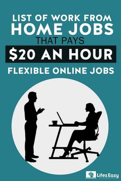 10 Legitimate Work From Home Jobs Paying $20 an Hour