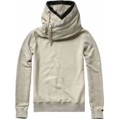 Home Alone hooded sweater with double collar - Sweats - Official Scotch & Soda Online Fashion & Apparel Shops