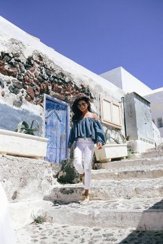 #PackingWithPaige in Santorini, Greece | @lusttforlife