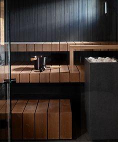 Sauna Ideas, Sauna Design, Airport Lounge, Wellness Spa, Master Bath, Yard Crashers, Cottage, Saunas, Interior Design
