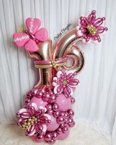 Balloon Flowers, Balloon Bouquet, Balloon Garland, Balloon Columns, Balloon Arrangements, Balloon Centerpieces, Birthday Balloon Decorations, Birthday Balloons, Flower Box Gift