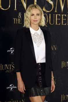 Charlize Theron - 'The Huntsman and The Ice Queen' Premiere in Hamburg