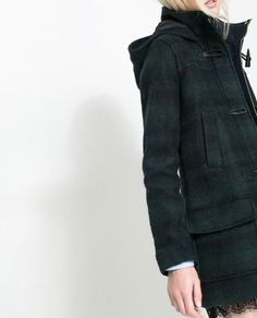 Image 5 of SHORT DUFFLE COAT WITH TOGGLES from Zara