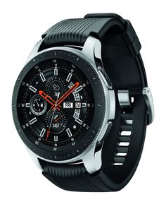Samsung Galaxy Watch smartwatch GPS, Bluetooth) – Silver/Black (US Version with Warranty) Stylish Watches, Luxury Watches, Cool Watches, Mobiles, Galaxy Smartwatch, Smartwatch Bluetooth, Sport Smartwatch, Bluetooth Watch, Watch Gears