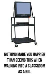 Oldschool tv memories // classroom