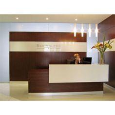 modern reception desk - Google Search