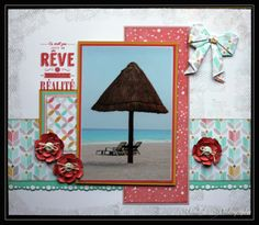 Stampin by Chantal: Album Cancun Page (5)