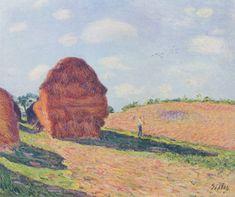 The straw Rent by @artistsisley #impressionism