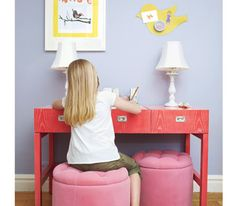 A Children's Bedroom Gets Organized