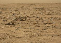 Curiosity's recent shot of the Martian landscape. Doesn't look warm, does it? Credit: NASA/JPL