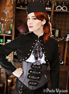 Steamship Captain #2 | Photoshoot for Clockwork Couture Stea… | Flickr