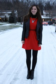 La Mariposa: Edgy in Red