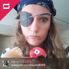 Arrrr thar be a good pirate! #TalkLikeAPirateDay