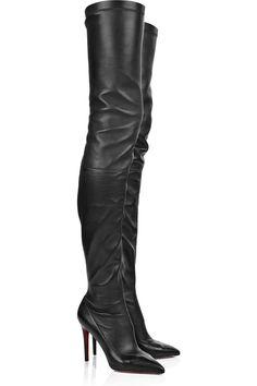 3e592bcb4776d My favorite Loubitin Boots!!  lt 3 Thigh High Boots