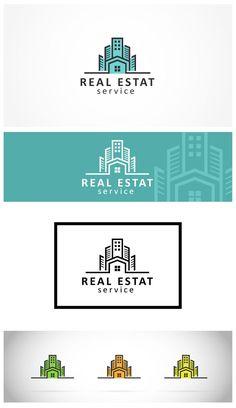 Realestat Logo Template on Behance