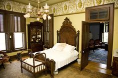 Glenn House Interior. Check out VisitCape.com to find out how you can tour this restored Victorian home!