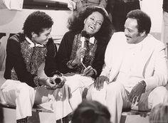 Michael Jackson, Diana Ross, Quincy Jones