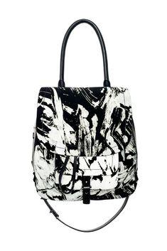Bags on Pinterest | Fendi, Phillip Lim and Rebecca Minkoff - prada frame bag caramel + black + marble gray