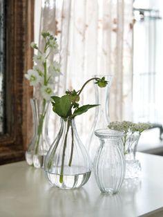 Mini jarrones de la firma sueca #Affari para llenar con #flores #estilonordico
