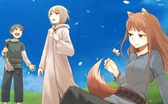 #1429437, spice and wolf category - widescreen wallpaper spice and wolf
