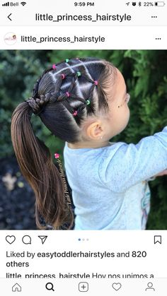 little-girl-hairstyles - Fab New Hairstyle 2 Childrens Hairstyles, Lil Girl Hairstyles, Girls Hairdos, Princess Hairstyles, Baddie Hairstyles, Braided Hairstyles, Teenage Hairstyles, Mixed Kids Hairstyles, Toddler Hairstyles