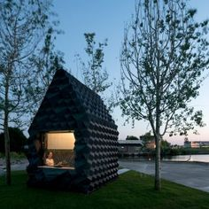 3-D printed home by DUS Architects…