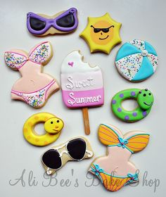 Summer Collection From Ali Bee's Bake Shop