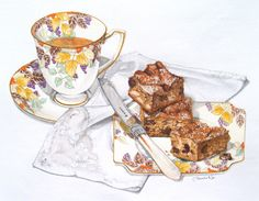 Date and Ginger Slice