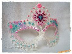 Vanecroche: Máscara Carnaval Croche