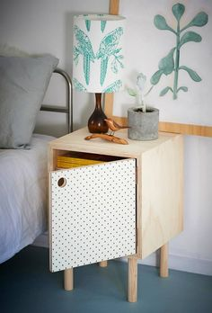My love has come along...   White Pegboard sideboard ($705) and bedside tables ($592 each) from NZ's Homebase Collections.