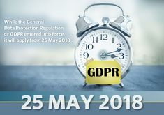 While the General Data Protection Regulation already entered into force it will apply from 25 May 2018 which means the official GDPR deadline for compliance is also on 25 May 2018 Data Protection Officer, General Data Protection Regulation, 25 May, Cyber, How To Apply, Self