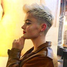 From @adamciaccia 💕 Pixie, Melbourne, Model, Hair Ideas, Instagram, Fashion, Haircuts, Hair, Moda