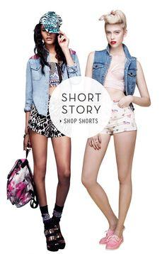 Get shorty - Shop shorts