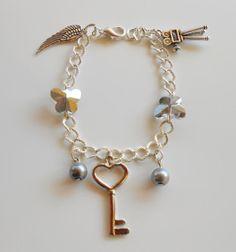 Elegante bracciale in metallo color di AttraversoLoSpecchio, €15.00