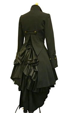 Steampunk Riding Coat, with an Edwardian twist….