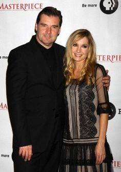 Brendan Coyle and Joanne Froggatt - Bates and Anna from Downton Abbey.    Downton