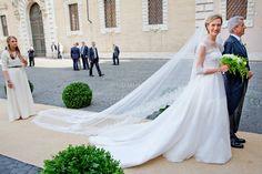 princess Elisabetta Maria Rosboch von Wolkenstein wedding dress - Google Search