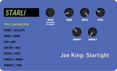 "This Week's Preset – Joe King's ""Starlight"" #strymonpreset"