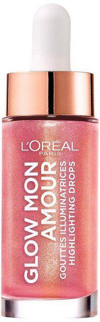 Highlighter Glow Mon Amour Highlighting Drops Products Highlighter Makeup Loreal Paris Loreal Paris Makeup