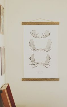 The neutral tones of this vintage-inspired poster makes it easy to add to any room. www.mooreaseal.com