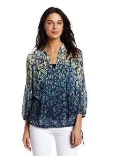 Calvin Klein Jeans Women's Peasant Top $69.50