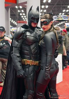 Batman and Catwoman - New York Comic Con 2014 - Photo by Geeks are Sexy