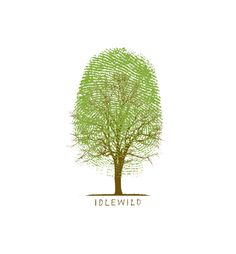 Logo for the band Idlewild -- so excited to see these designers at the AIGA design camp.