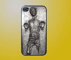 star wars han solo frozen in carbonite iPhone 4 case by fullncreative $20
