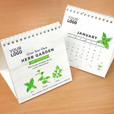 A corporate calendar gift like no other, this special calendar gives a garden of herbs to grow throughout the year. Simple Desk, Seed Paper, Green Business, Desk Calendars, Types Of Printing, Paper Cover, Corporate Gifts, Herb Garden, Biodegradable Products