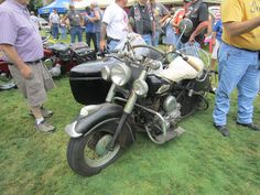1953 Indian Chief and Sidecar – Indian Motocycle Day: July 21, 2013