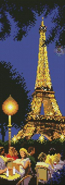 Париж - Вышивка