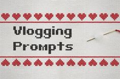 Vlogging Prompts! #YouTube #Vlogging